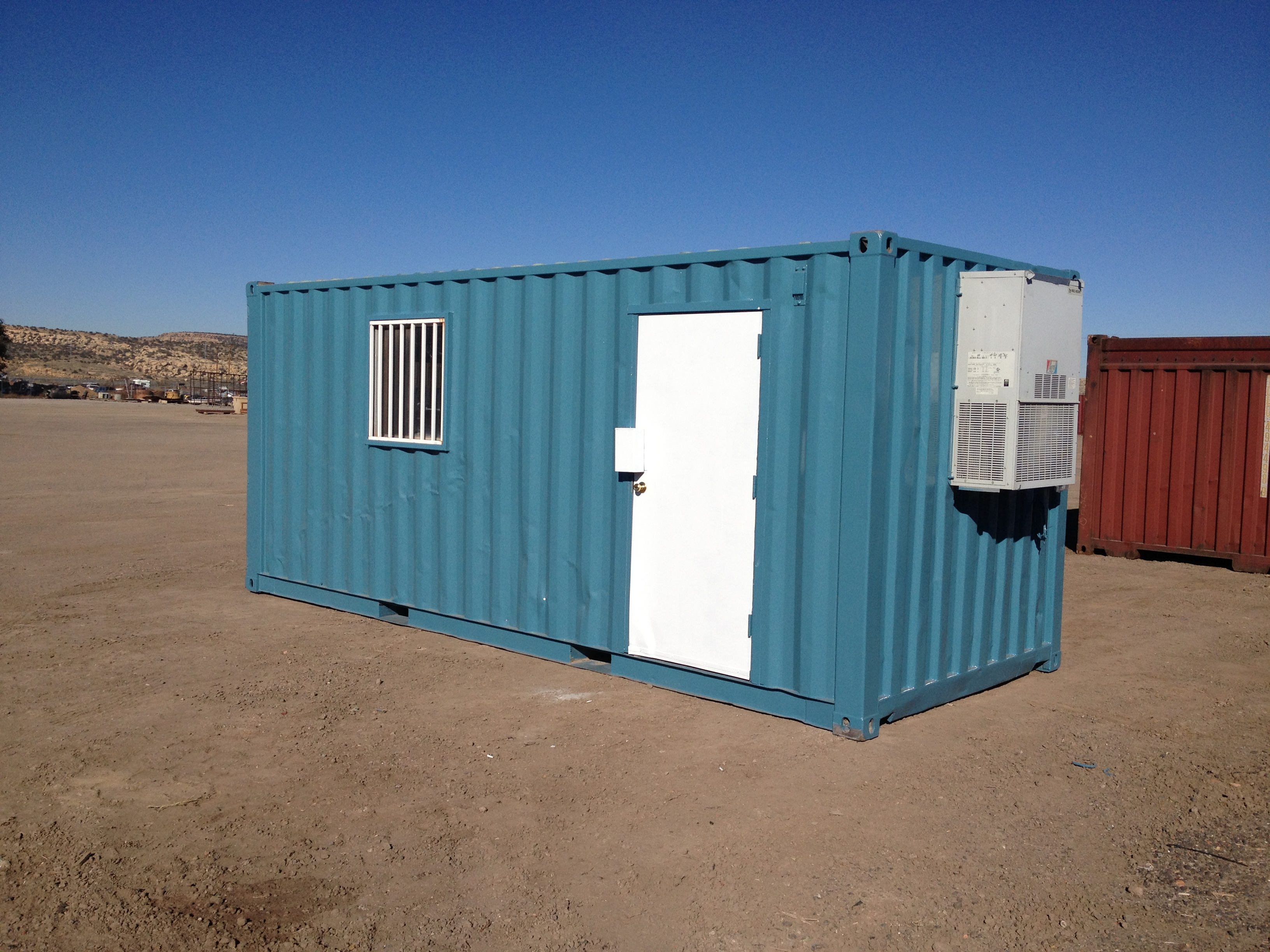 20 Portable Storage : Ft climate controlled container